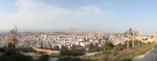alicante castle view
