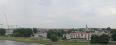 city sky castle krakow
