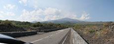 italy etna road