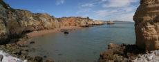 lagos pinhao beach