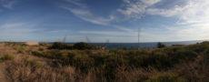 landscape sky ocean grass