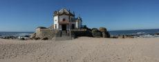 porto church on beach